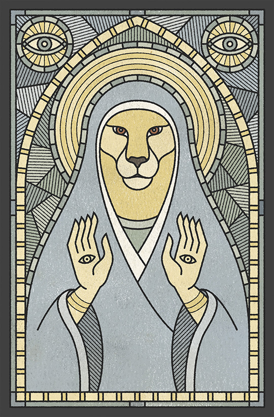 Saint Lucy by Andy Gosling
